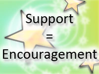 Support = Encouragement