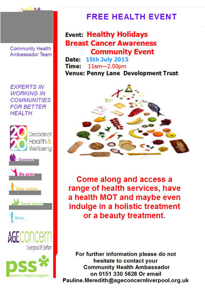 Free Health Event 2015
