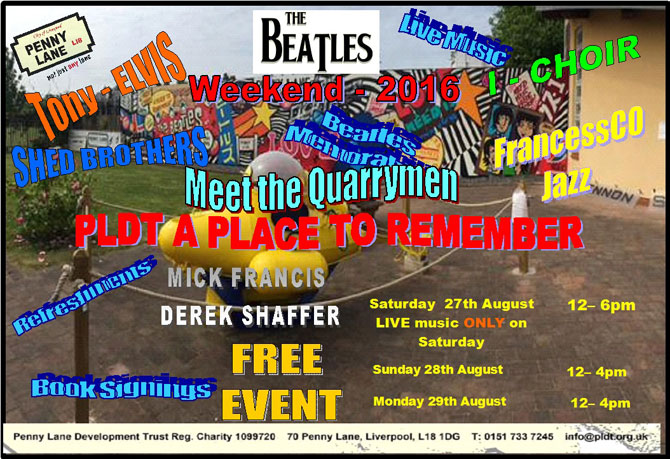 International Beatles Weekend 2016