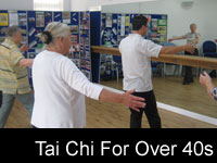 Tai Chi For Over 40s